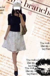 おすすめデート服の画像「スカート」01