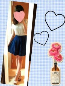 おすすめデート服の画像「スカート」03