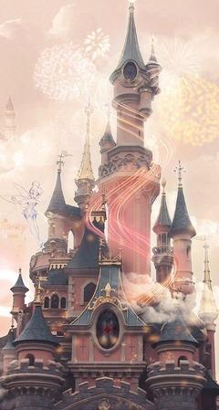 願いが叶う!シンデレラ城の画像